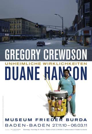 DUANE HANSON/GREGORY CREWDSON. UNHEIMLICHE WIRKLICHKEITEN - Plakat