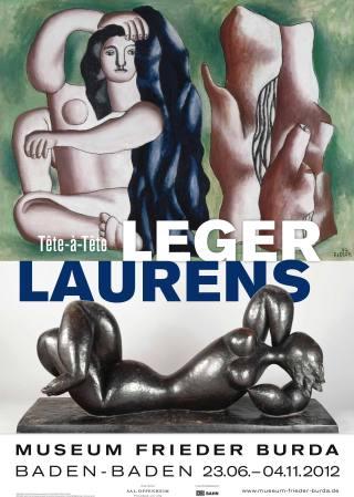LEGER-LAURENS ''Tête-à-Tête'' - Plakat