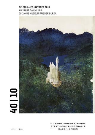 40 Jahre Sammlung - Plakat