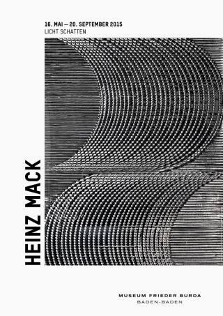 HEINZ MACK - Plakat