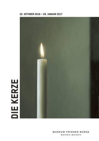 Die Kerze - Plakat