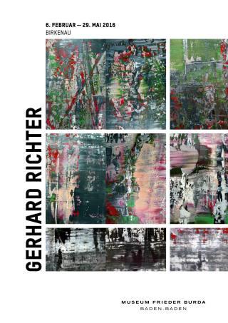 Gerhard Richter. Birkenau - Plakat