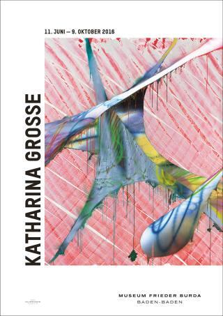 Katharina Grosse - Plakat