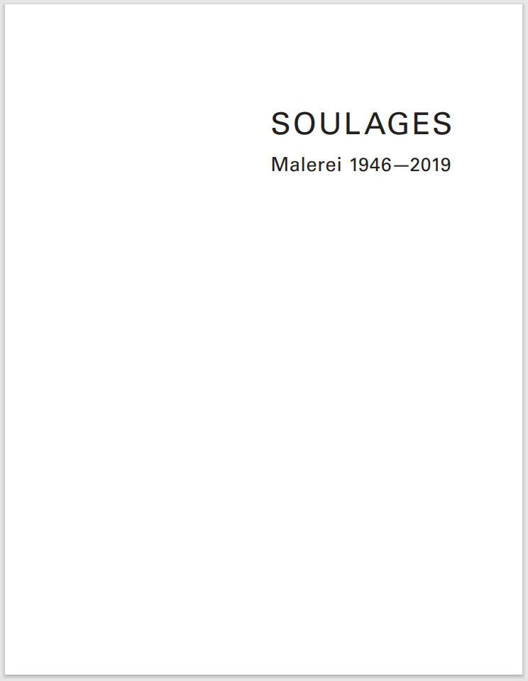 Soulages Katalog frieder burda